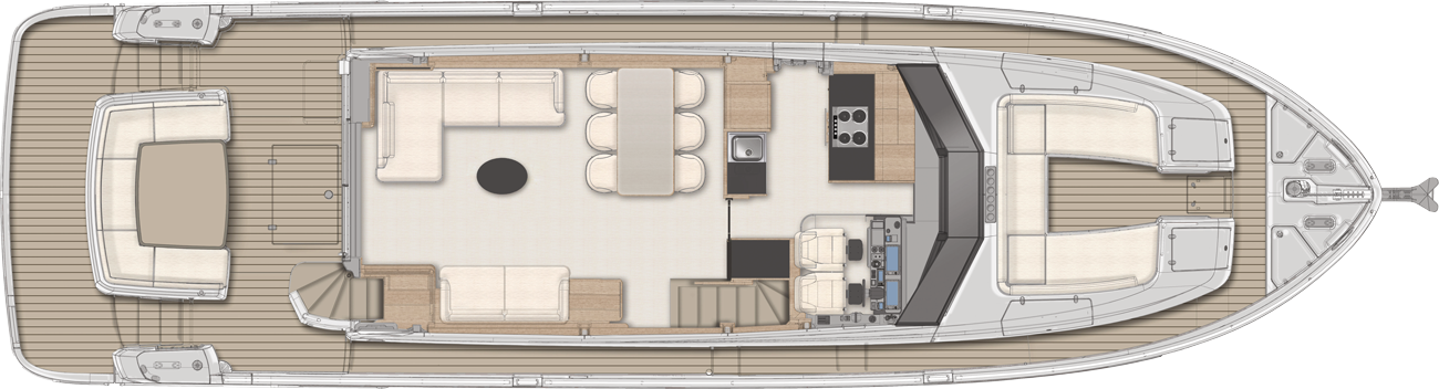 Main deck - Navetta version